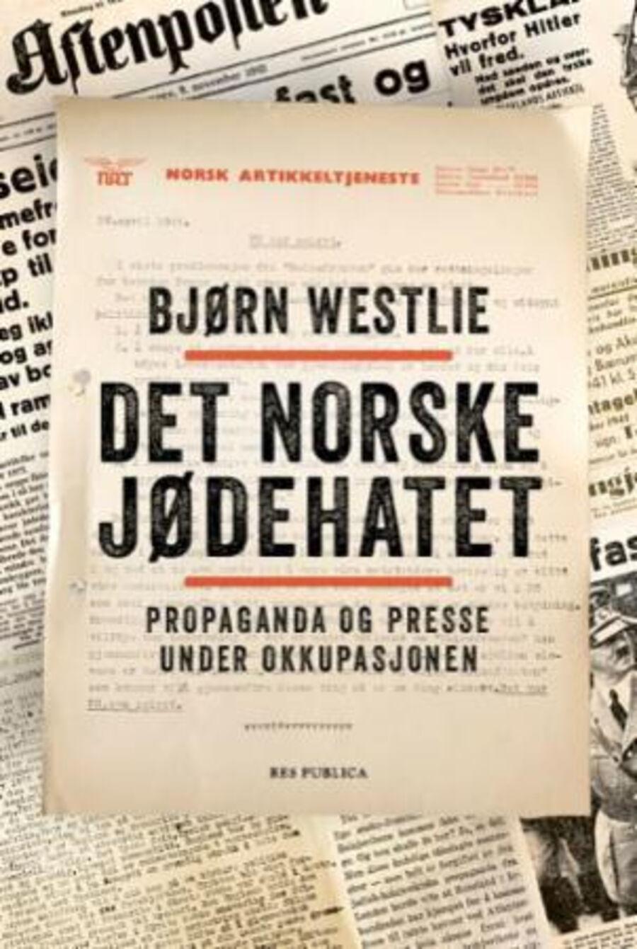 Boktips Det norske jødehatet Bjørn Westlie